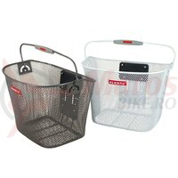 Cos bicicleta fata Klickfix anthracite close-meshed, 16 Liter