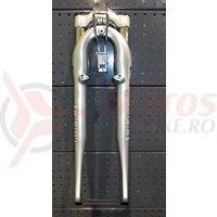 Furca suspensie RST 700C TR PRO1 T7 (W/O steerer) gloss SVR 50mm preload