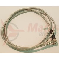 Furtun pt. frana hidraulica (metal) Shimano SM-HOSE m755 1300mm not coated type both sides assembled banjo unit 90 deg connect type to bl