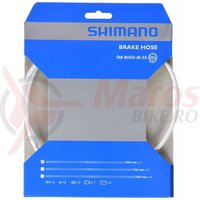 Furtun pt. frana hidraulica Shimano SM-BH59-JK 1000mm alb (adjustabil) conector drept pe maneta (neasamblat)