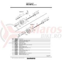 Garnitura cauciuc Shimano HB-MC10-F