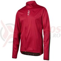 Geaca Fox Attack Thermo jersey drk red