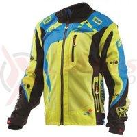 Geaca Leatt Jacket GPX 4.5 X-Flow lime/blu