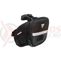 Geanta-Borseta Topeak Aero Wedge Pack Micro Tc2470B - Volum 0.41 L, Negru