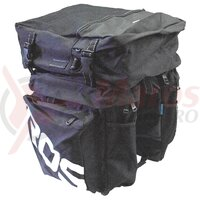 Geanta - pe portbagaj spate, 2+1 compartimente, 45 L