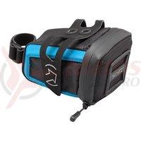 Geanta pentru sa PRO stradius medi black W/Blue strap ficture