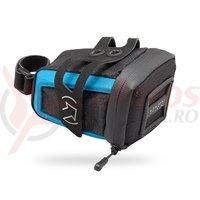 Geanta pentru sa PRO stradius mini black W/Blue strap ficture