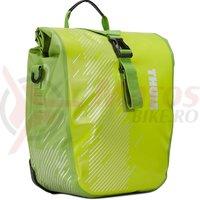 Geanta THULE PNP SHIELD PANNIER in pereche, mic, pe portbagaj, verde