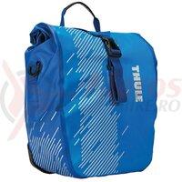 Geantă THULE PNP SHIELD PANNIER pereche, mic 13l pe portbagaj albastru deschis