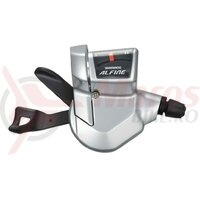Maneta schimbator Alfine SLS700 silver 11V, Rapid-Fire with cable  2100 mm
