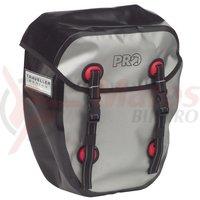 Genti laterale pentru portbagaj fata PRO WP set prindere curea elastica negru/argintiu