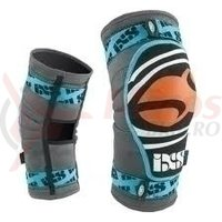Genunchiere iXS Slope-SeriesEVO blue-orange