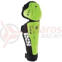 Genunchiere si tibiere iXS Hammer-Series green Kid