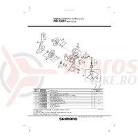 Ghidaj cablu Shimano RD-C201