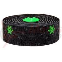 Ghidolina Supacaz Super Sticky Kush - Galaxy - verde neon print w/ capace verde neon