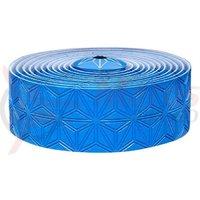 Ghidolina Supacaz Super Sticky Kush - TruNeon - albastru neon w/ capace albastru anodizat