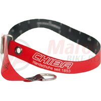 Glove measuring tape red