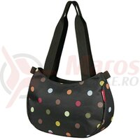 Geanta KLICKfix Style Bag dots, 31x22x11cm, w/o handleb.adap.