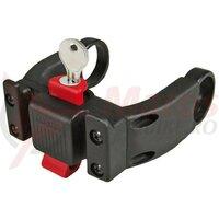 handlebar adapter E Klickfix lockable black, komb.w. E-Bike Displays
