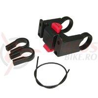 Adaptor ghidon KLICKfix negru, pentru 22-26 a. 31.8mm