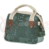 Geanta Basil  Boheme City Bag forest green  w. zip  8l