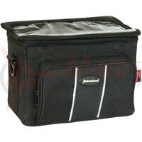 Handlebar bag Haberland black, 25x19x14cm, 6ltr