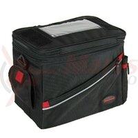 handlebar bag Haberland Maxi Plus black, 28x22x17cm, 10l