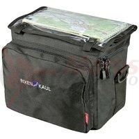 Geanta portbagaj KLICKfix Daypack Box black, 26x22x16cm, w/o handleb.adap.