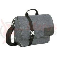 Geanta portbagaj spate Norco Bellham tweed grey, 25x19x8cm w/o handleb.adap.