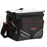 Geanta portbagaj Norco Canmore Active black, 26x19x19cm, w/o handleb.adap.