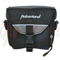 handlebarbag Haberland small black, 15x12x12cm, 2 ltr
