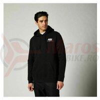 Hanorac Fox Coiled pullover fleece [Blk]