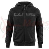 Hanorac Cube Zip Hoody black