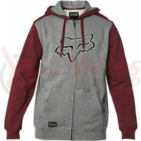 Hanorac Destrakt Zip Fleece [Gry/Rd]