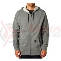 Hanorac Fox 3Lue Label Zip Fleece htr graphite
