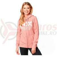 Hanorac Fox Ascot zip fleece blsh pink