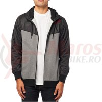 Hanorac Fox Axle Zip Fleece black