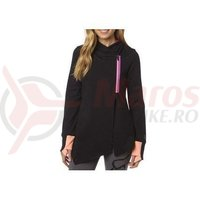 Hanorac Fox Contouration Zip hoody black