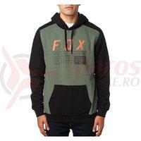 Hanorac Fox District 3 Pullover Fleece drk fat black