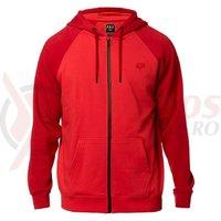 Hanorac Fox Legacy Zip Fleece rio red