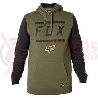 Hanorac Fox Listless Pullover Fleece fat green