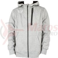 Hanorac Pit Tech Zip Fleece htr grey
