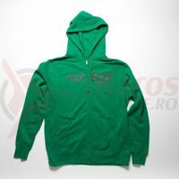 Hanorac Santa Cruz New Strip Zip Hoodie Green