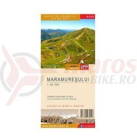 Harta cicloturistica Maramuresului 1:65 000