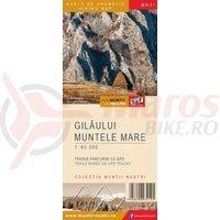 Harta cicloturistica Muntii Gilaului-Muntele Mare