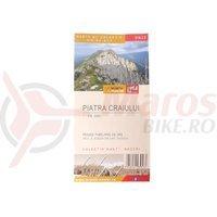 Harta de drumetie muntii Piatra Craiului 1:40 000