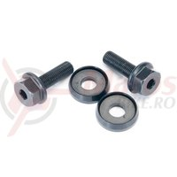 Hex bolt  washer set Eclat fits on front  rear female axles