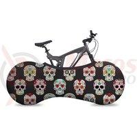 "Husa bicicleta Velosock "" Skulls """