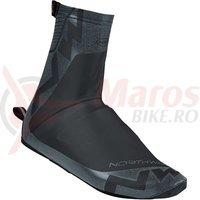 Huse pantofi MTB Northwave Acqua summer negru/gri reflectorizant