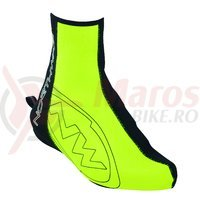Huse papuci Northwave Fighter High galben fluo